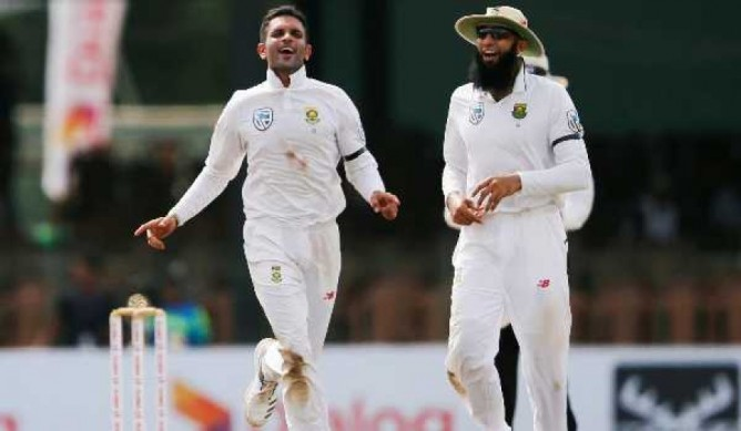 Keshav Maharaj second South African to take 9 wickets in a Test innings