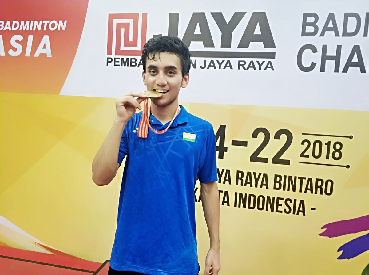 Lakshya Sen stuns World No 1 to bag badminton gold in Asian Junior Championships