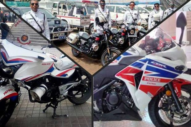 Police Bikes of India 2018: From Harleys to CBRs check out our favourite Police motorcycles on the Indian roads
