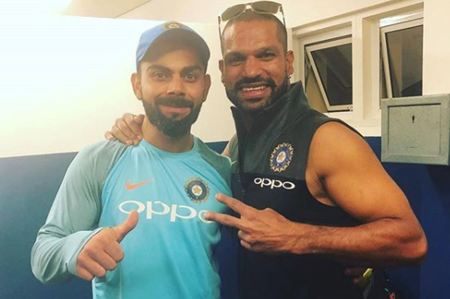 Virat Kohli and Shikhar Dhawan Enter the Ground in Style Against Essex