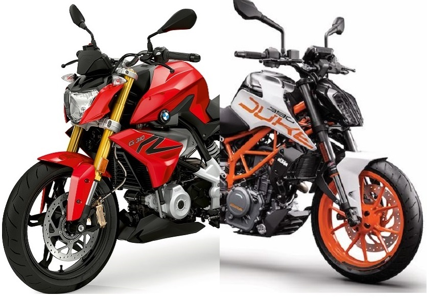 BMW G 310 R Vs KTM Duke 390 Spec Comparison: Prices, Images, Features and More