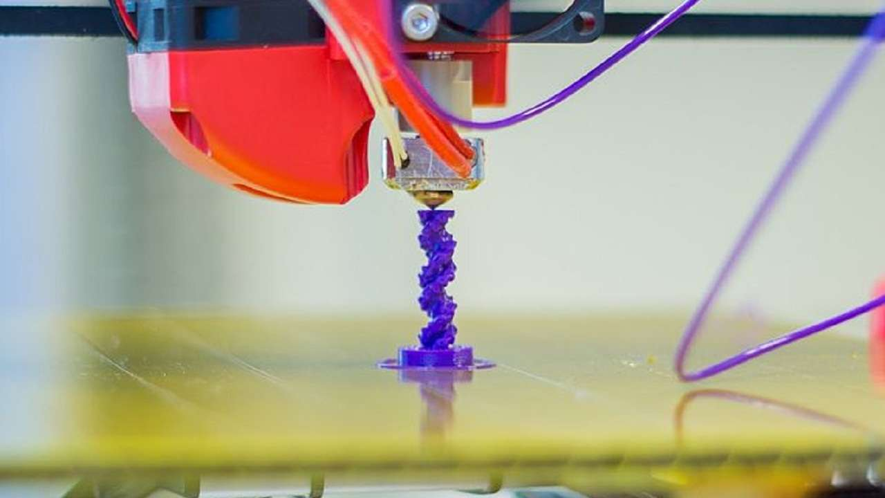 Scientists develop faster, coloured 3D printing method