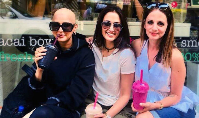 Happy Friendship Day 2018: Sonali Bendre, Battling Cancer, Posts