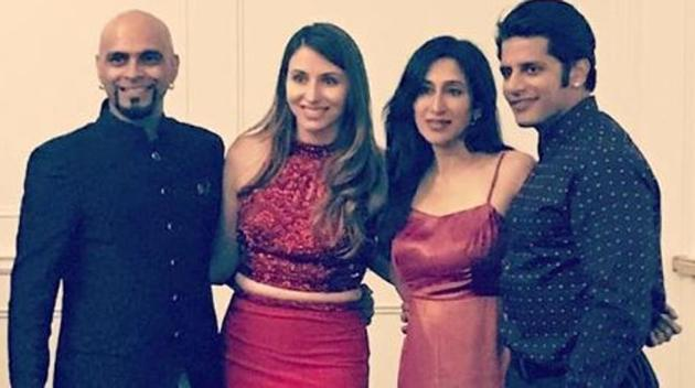 Raghu Ram gets engaged to singer Natalie Di Luccio in Canada. See pics