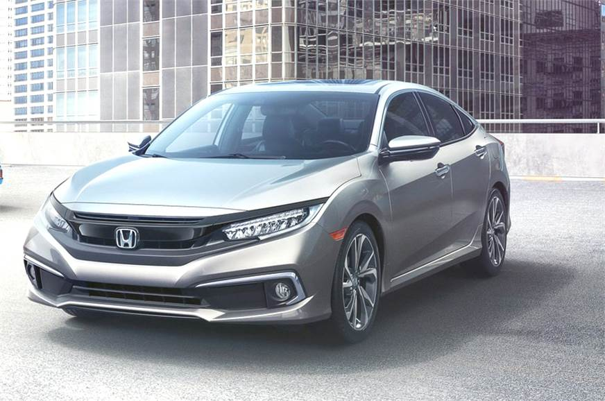 India-bound Honda Civic facelift revealed