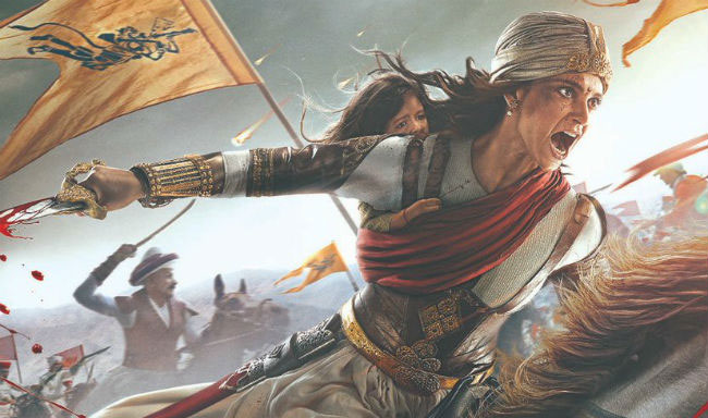 Manikarnika: The Queen Of Jhansi First Poster - Kangana Ranaut Looks Fierce As Rani Laxmi Bai