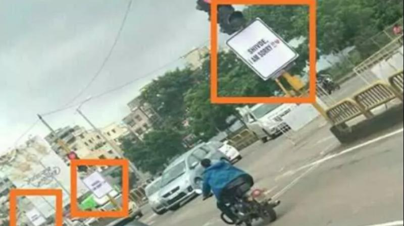 """I Am Sorry"" Banners By Boyfriend In Maharashtra Locality Upset Police"