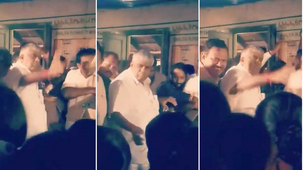 Karnataka Minister throws food packets to flood victims, faces flak after video goes viral