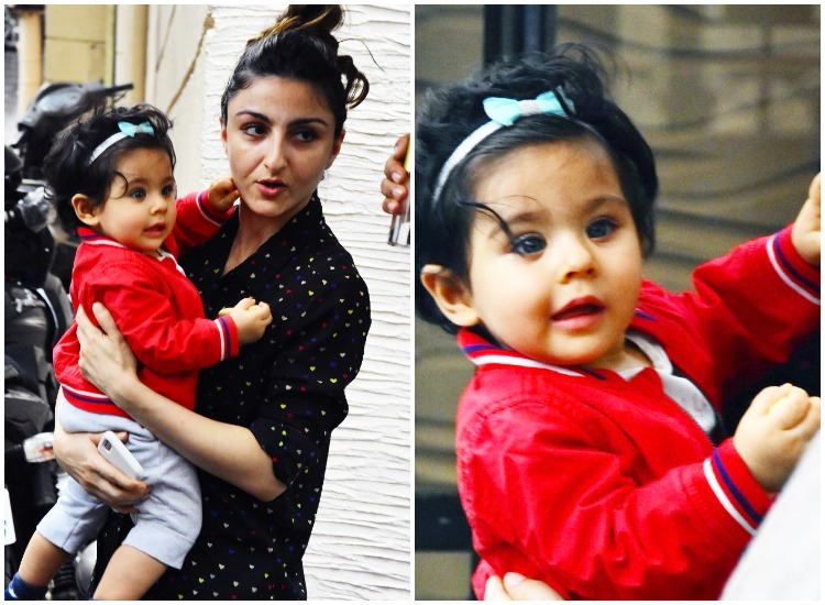 Soha Ali Khan gets angry at paparazzi for using camera flashes on Inaaya: I'll do it to your kids too