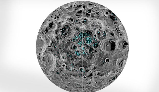 "NASA Chief Excited About ""Billions Of Tons"" Of Water Ice On The Moon"