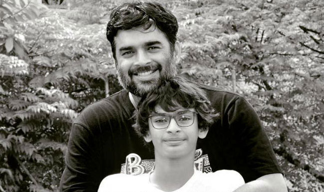 Madhavan And Wife Sarita