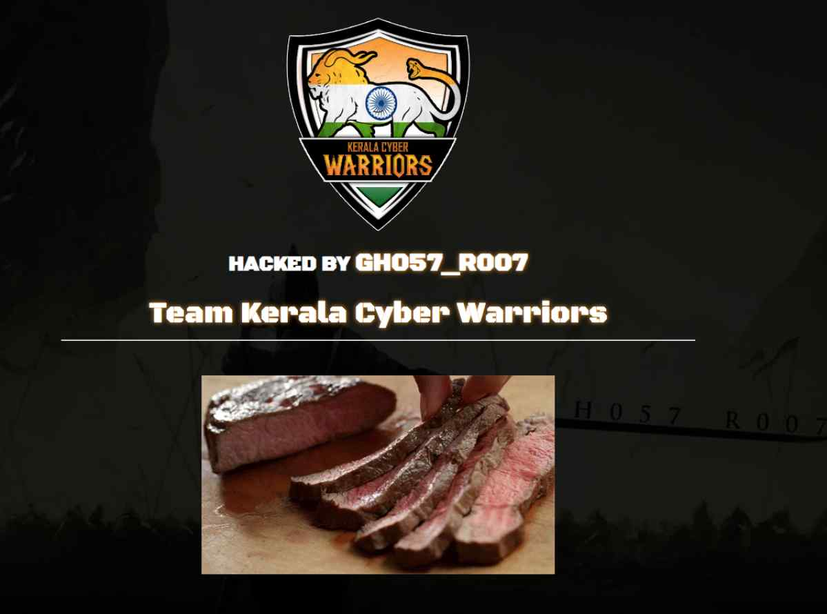 Hindu Mahasabha's Website Hacked by Group, Beef Displayed