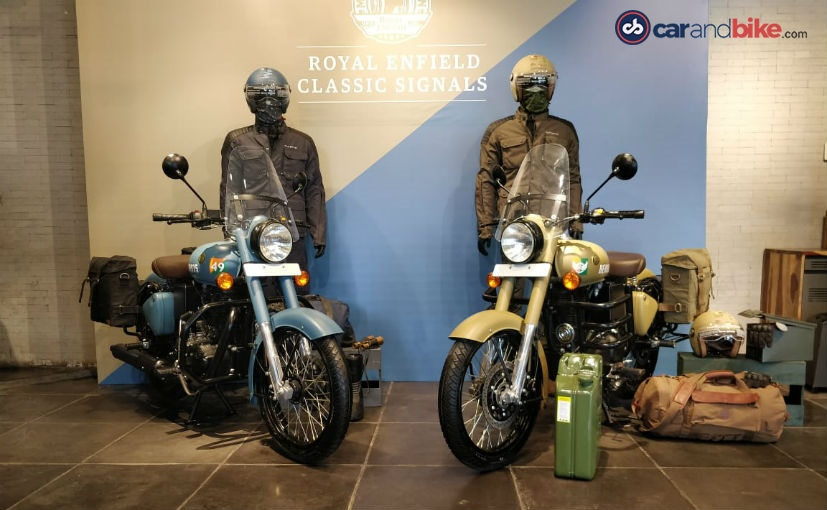 Royal Enfield Classic 350 Signals Edition With ABS Launched In India; Priced At Rs. 1.62 Lakh