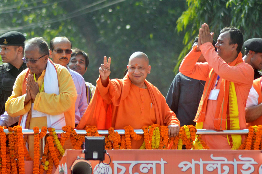 Special Arrangement For Stray Cows, Dogs, Monkeys at Every Nagar Nigam: Yogi