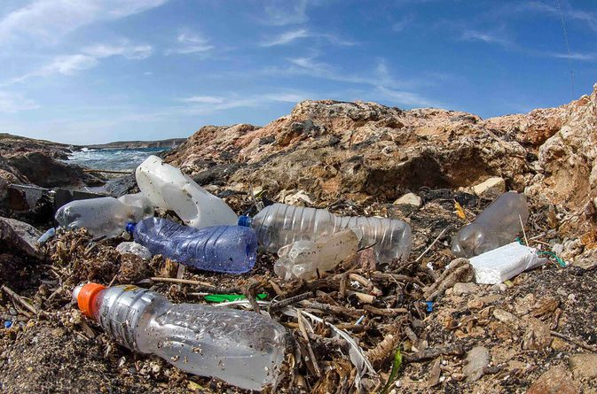 Scientists are engineering an enzyme that eats plastic waste