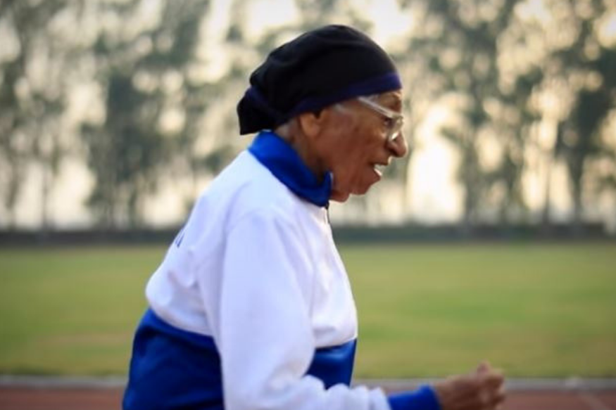 This 102-Year-Old Indian Female Athlete Just Won Another Gold Medal