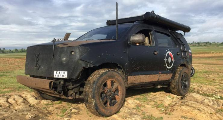 This modified Toyota Fortuner SUV looks straight out of a MAD MAX movie