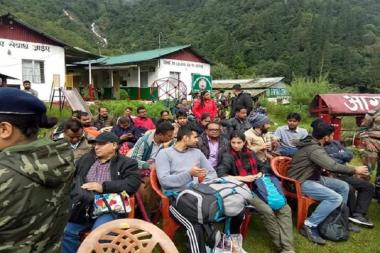 Over 100 Stranded Tourists Airlifted by IAF as Landslides Hit North Sikkim