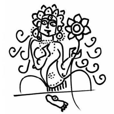 A Buddhist Goddess