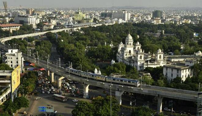 Hyderabad Metro Rail is now second largest metro network in country