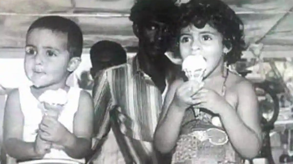 Amitabh Bachchan shares adorable pic of Abhishek Bachchan, Shweta as babies