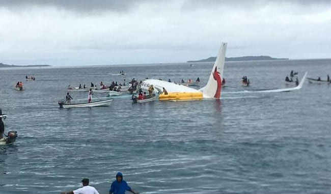 Plane Ditches Into Lagoon, Passengers Swim For Their Lives