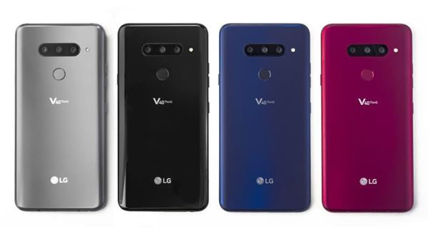 LG launches V40 ThinQ smartphone with five-camera setup