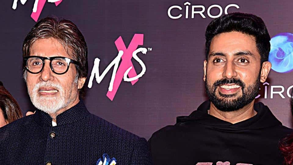 Amitabh Bachchan shares son Abhishek's childhood pic with a weird caption. Can you decipher it?