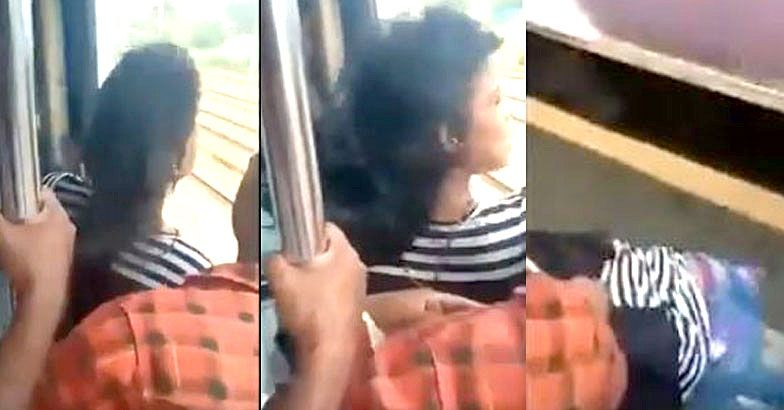 Teen Slips Off Train, Commuters Grab T-Shirt To Pull Her Up Near Mumbai