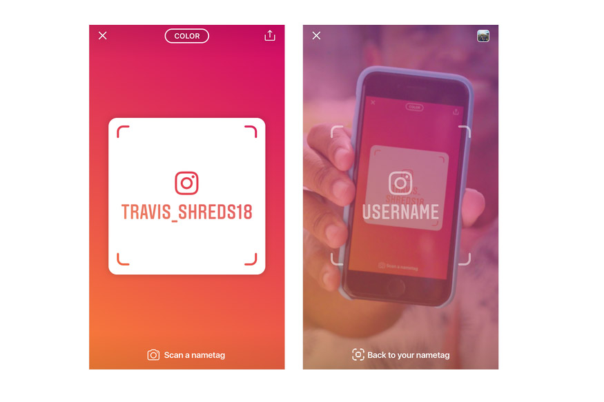 Instagram Launches Nametag Feature For Adding Friends IRL