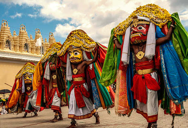 The golden dussehra of Mysore