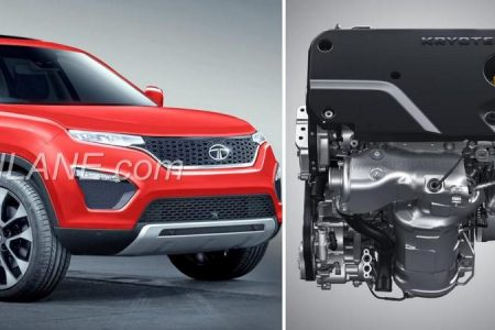 Tata Harrier Kryotec diesel 2-L 4 cylinder engine officially revealed before launch