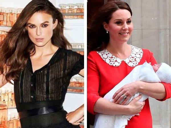 Actress Keira Knightley blasts Kate Middleton in an OPEN LETTER for looking decked up 7 hours post delivery
