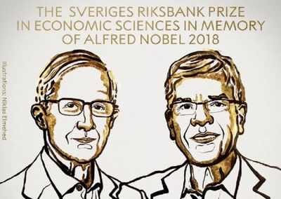 US duo William Nordhaus and Paul Romer win Nobel Economics Prize