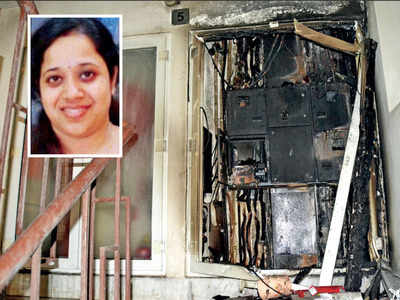 Woman saves many from Gurugram highrise fire, but dies as locked gate traps her