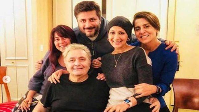 Sonali Bendre, Priyanka Chopra Visit Rishi Kapoor In New York. Neetu Kapoor