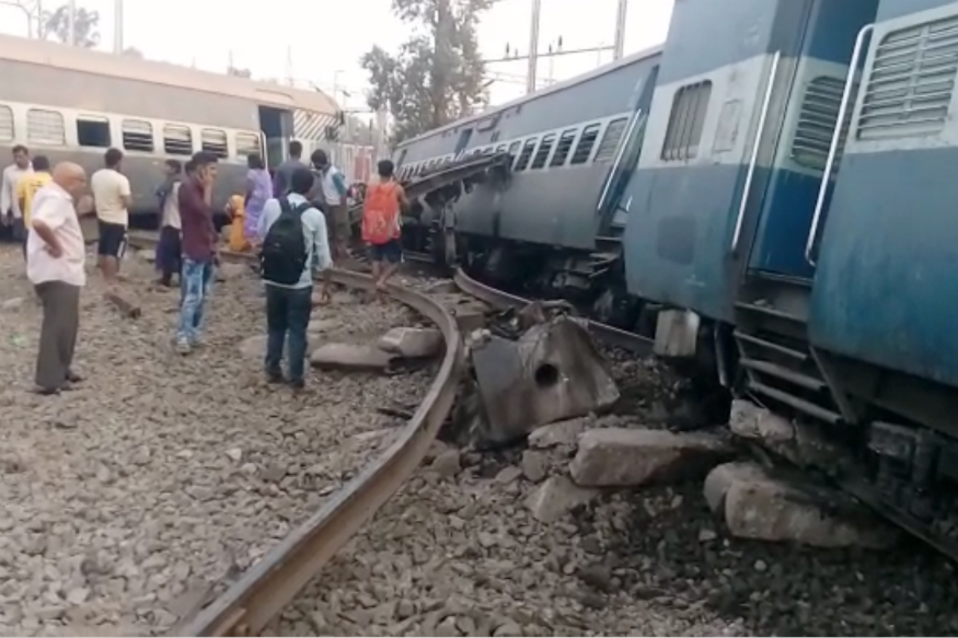 New Farakka Express Accident: 7 Killed as Engine, 4 Coaches Derail in UP