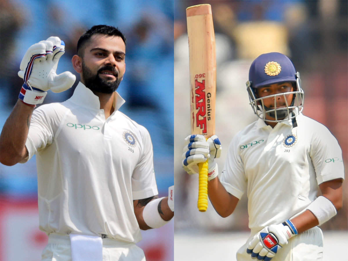 India vs West Indies: None of us were even 10% of what Prithvi Shaw is when we were 18, 19, says Virat Kohli