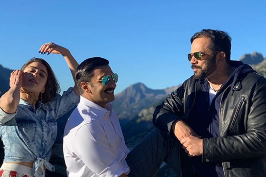 Sara Ali Khan, Ranveer Singh are in Switzerland for Simmba. See Photos, Videos