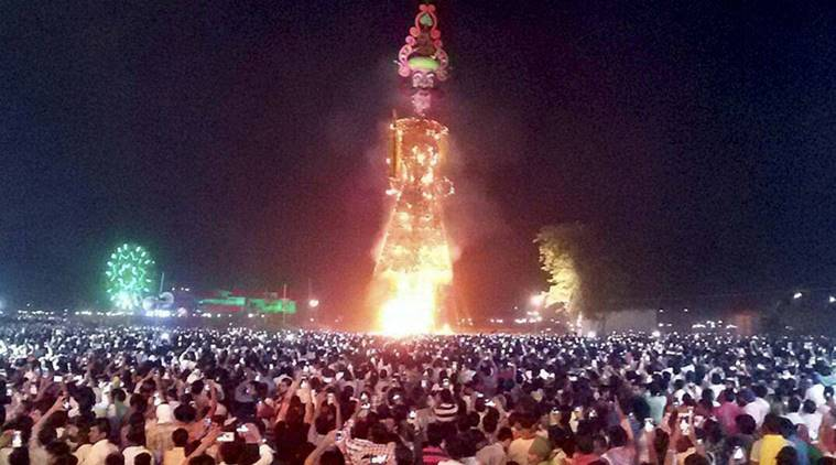 Bhim Army objects to burning Ravan's effigy, demands violators be booked under SC/ST Act