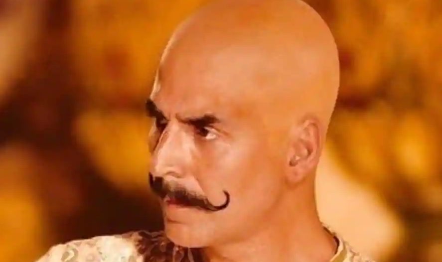 Introducing Akshay Kumar in a bald avatar from Housefull 4. See pic