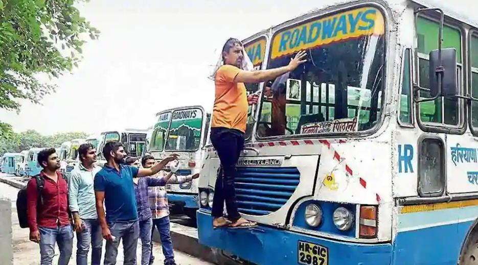 Haryana Roadways staff extend strike till Friday