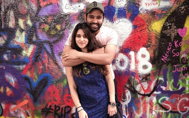 Ritika Sajdeh pokes fun at Yuzvendra Chahal on his companionship with Rohit Sharma