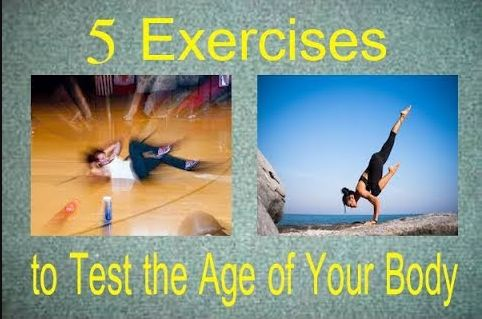 5 Exercises to Test the Age of Your Body