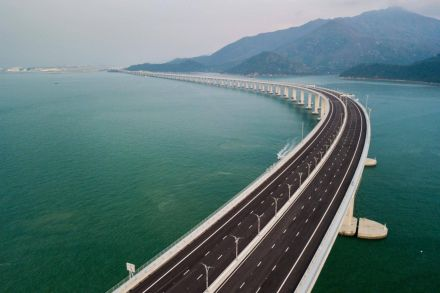 World's longest sea bridge brings China closer to Hong Kong
