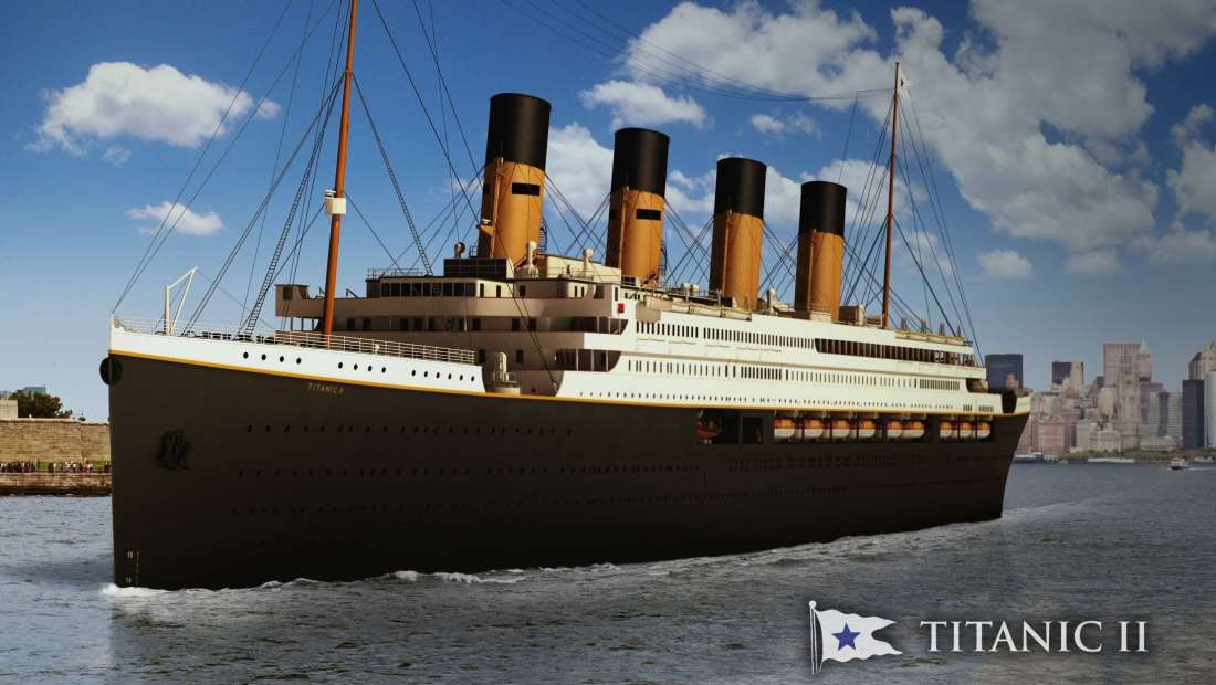 Titanic II: a revival plan and a few questions