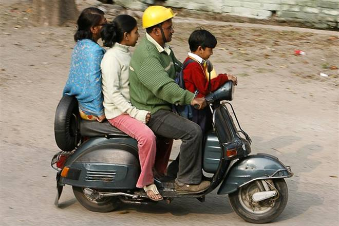 Five foolish ways how Indian parents endanger their children in cars, bikes