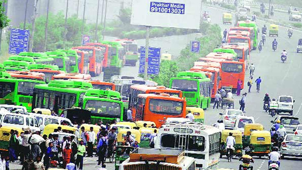DTC employees strike: Delhiites bear brunt as 3500 buses go off road