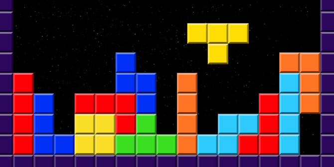 If you worry too much, playing Tetris could help calm you down