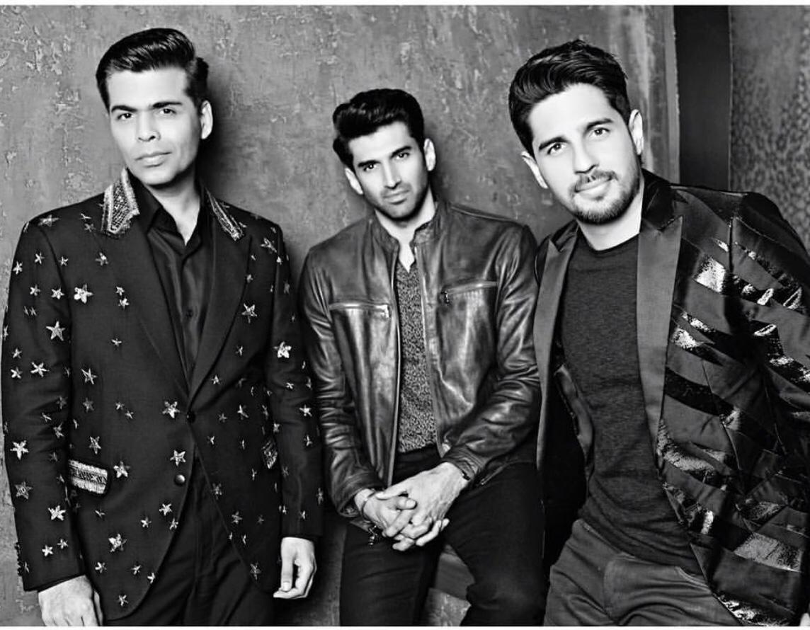 Koffee With Karan 6: KJo brews a strong cup of coffee with the dashing Sidharth Malhotra and Aditya Roy Kapoor